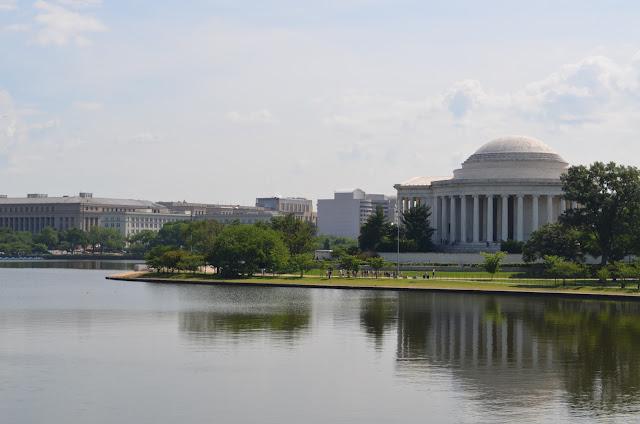 Thomas Jefferson Memorial across the Tidal Basin