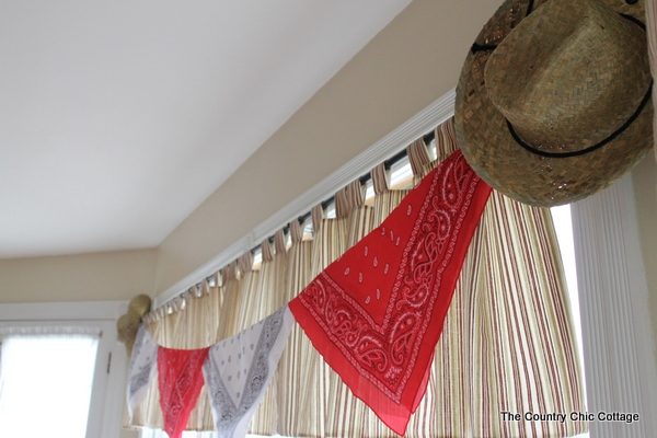 Cowboy Birthday Party Decoration