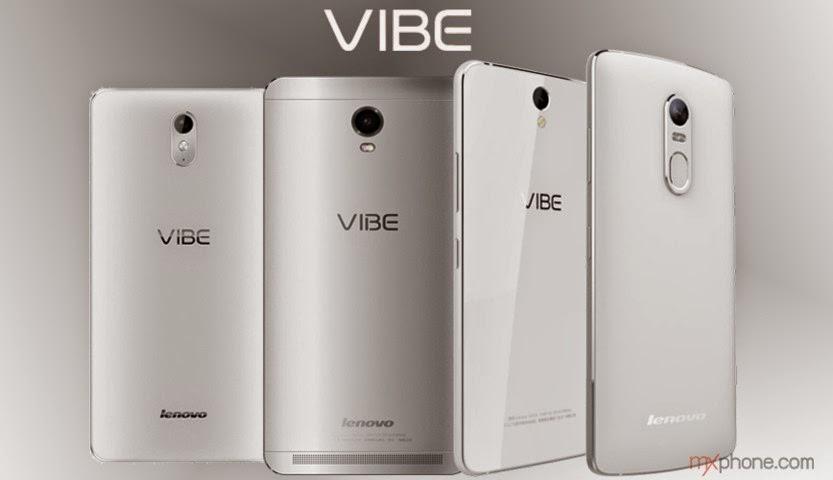 Inilah wujud dan spesifikasi Lenovo Vibe S1, X3, P1 dan P1 Pro, rilis MWC 2015
