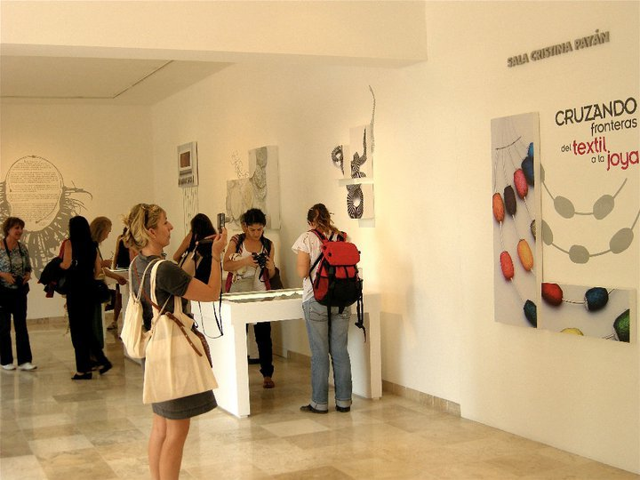 VI BIENNIAL OF CONTEMPORARY TEXTILE ART.