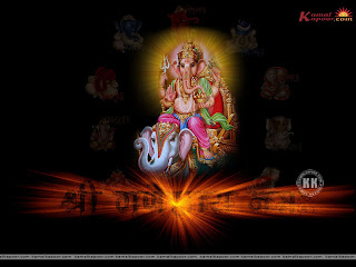 ganesha wallpaper with elephant