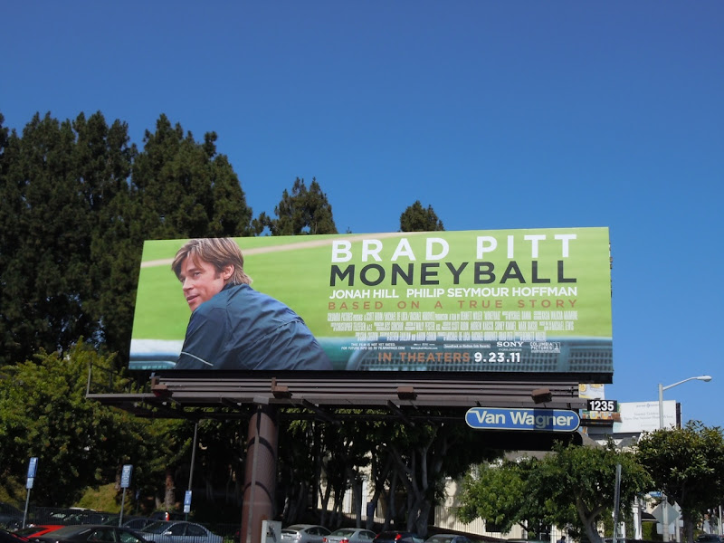 Moneyball movie billboard