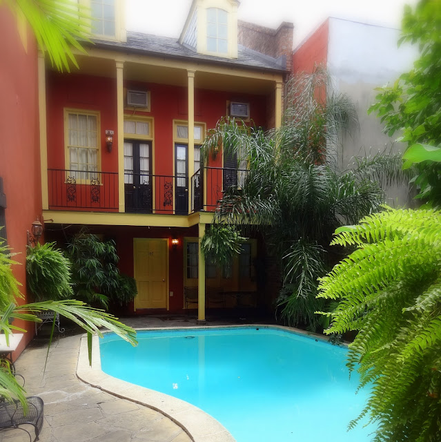 New Orleans Courtyards, New Orleans Pool, Balconies