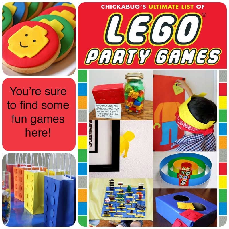 It's Written On The Wall: Excellent Lego Party Ideas-Games