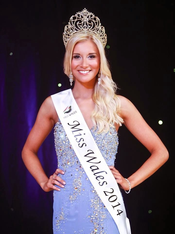 Miss Wales 2014 winner Alice Ford
