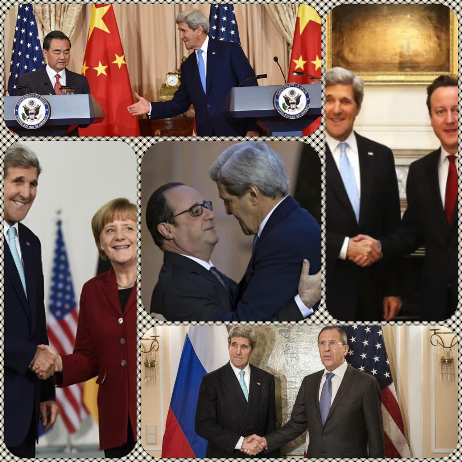 How the world grades John Kerry