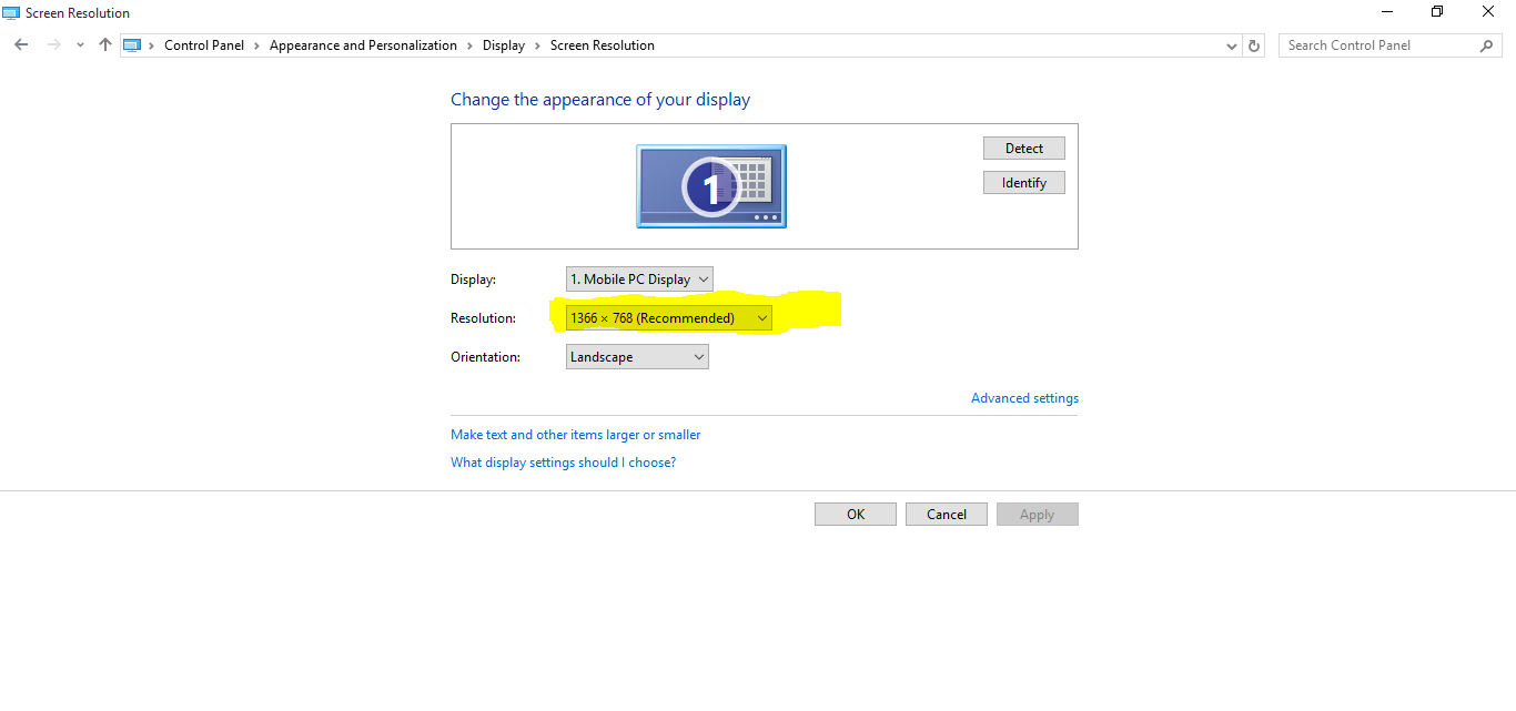 How to change Screen resolution in Windows 10 - Get Help in Windows 10