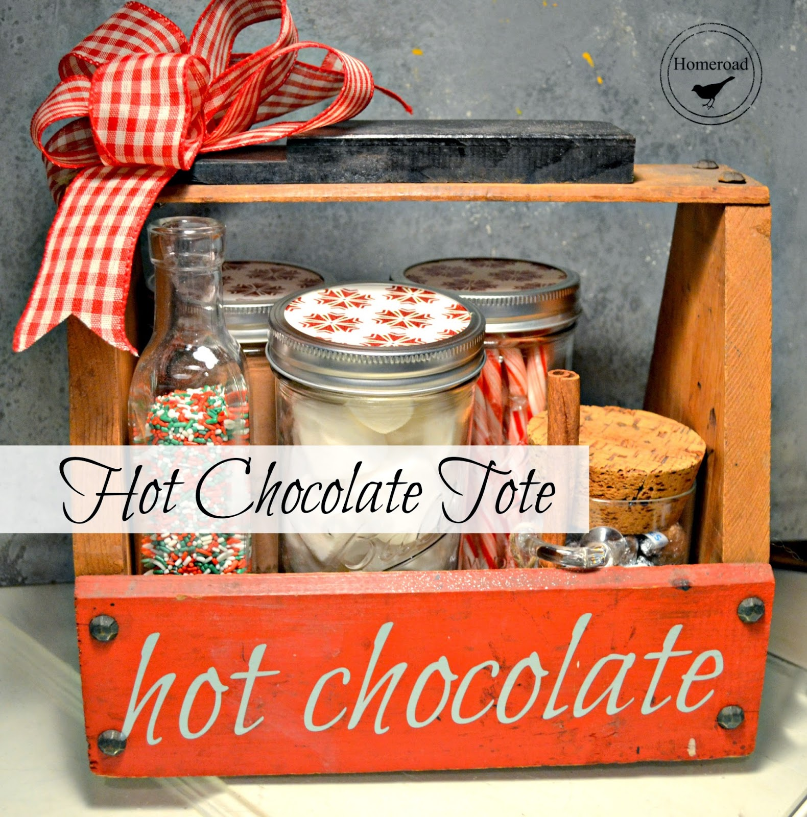 Hot Chocolate Tote www.homeroad.net