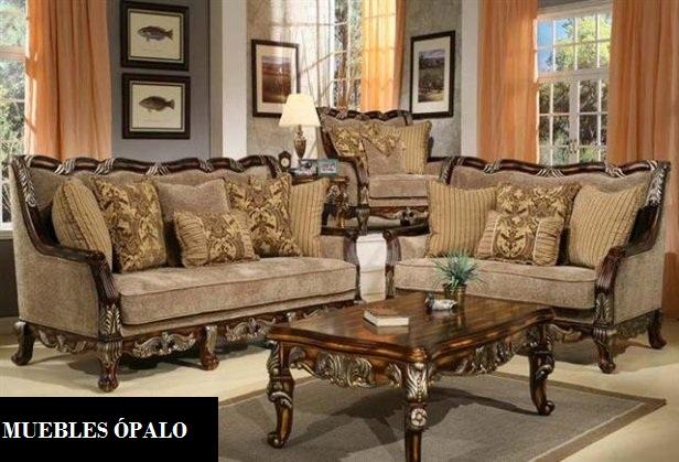 Palo muebles salas clasicas for Fotos de decoracion de salas clasicas