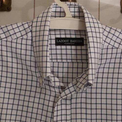 Legombolható gallér fazon - férfi ing divat
