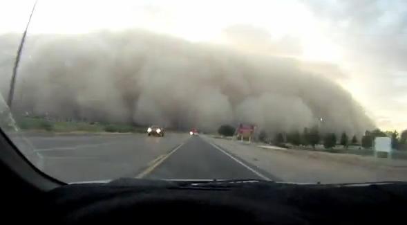 Impresionante Tormenta de Arena en Phoenix, Arizona (EEUU)