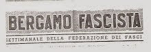 BERGAMO FASCISTA