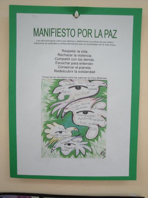 """""""MANIFIESTO POR LA PAZ"""""""