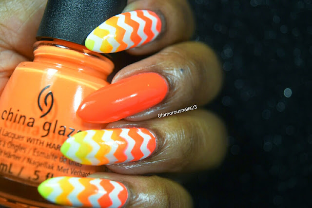 Summer Chevron Gradient