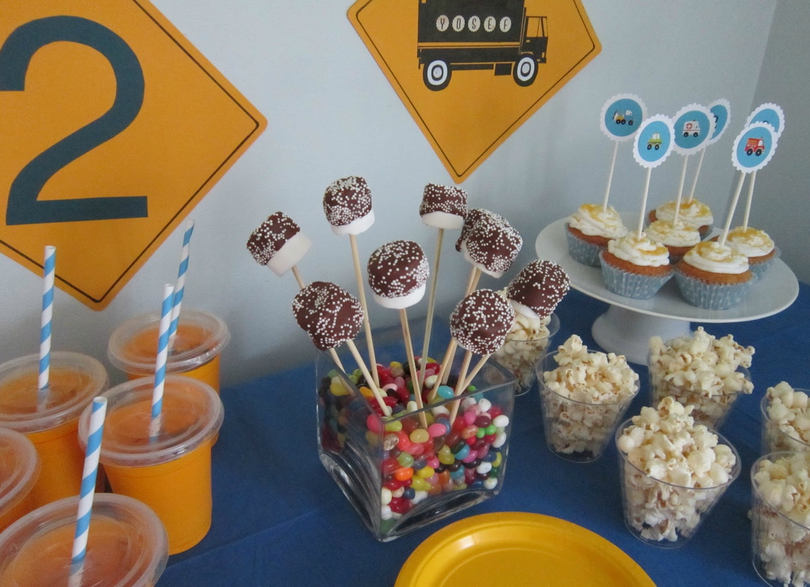Birthday Party Decoration Ideas For 2 Year Old Boy Image