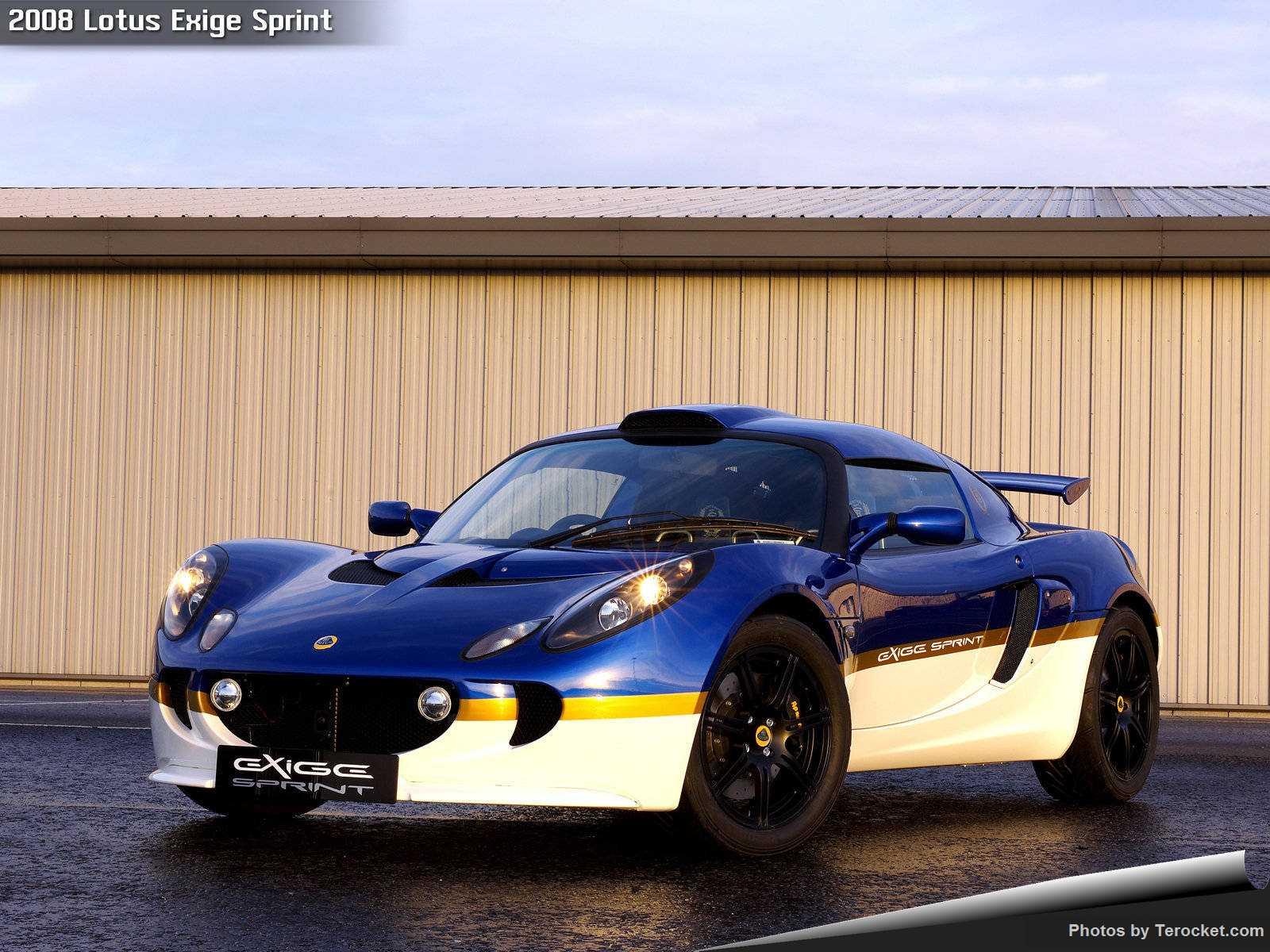 Hình ảnh siêu xe Lotus Exige Sprint 2008 & nội ngoại thất
