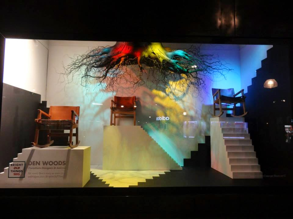 Selfridges Shopwindow Bright Old Things 2015 Den Woods