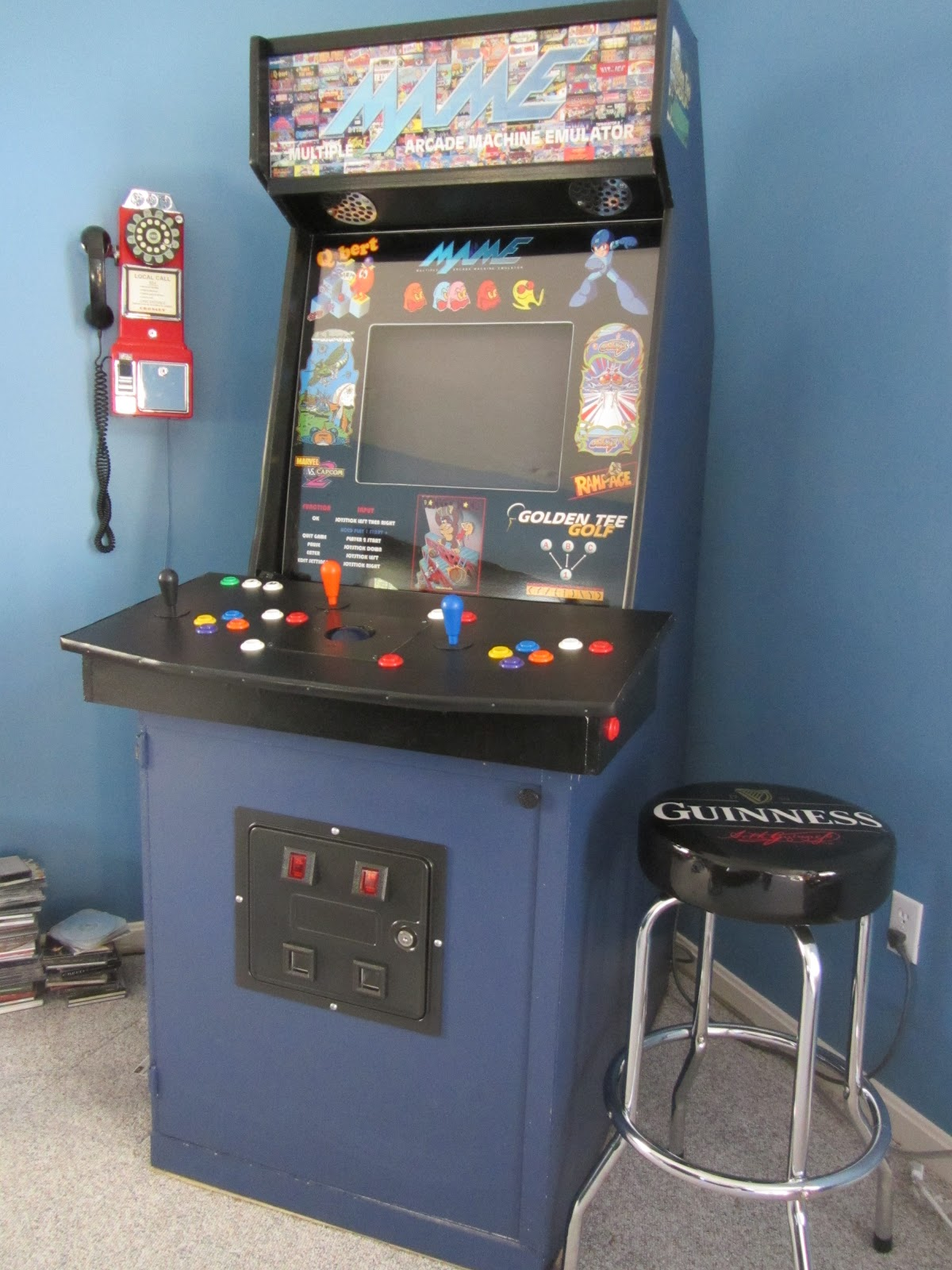 Golden Tee Cabinet About Gameroompinballcom