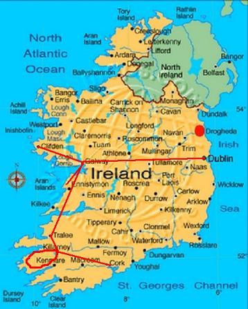 Id es de voyages sans voiture ou presque irlande aout 2012 - Office tourisme killarney ...