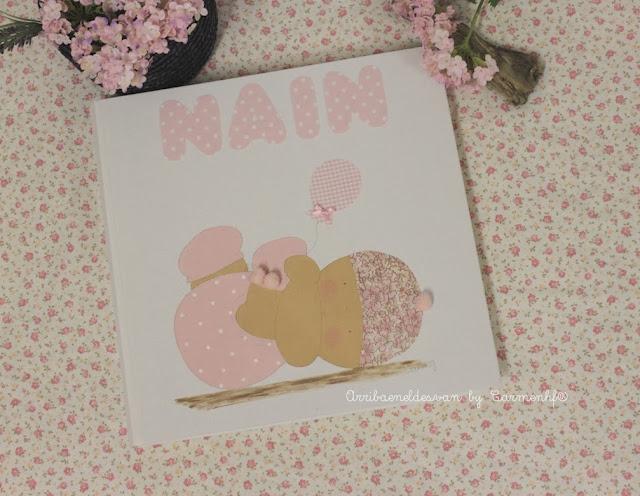álbum-fotos-bebé-infantil