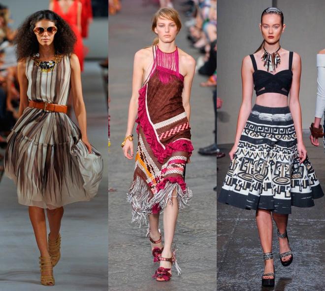 Модные принты сезона весна-лето 2012
