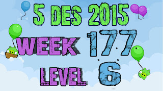 Angry Birds Friends Tournament level 6 Week 177