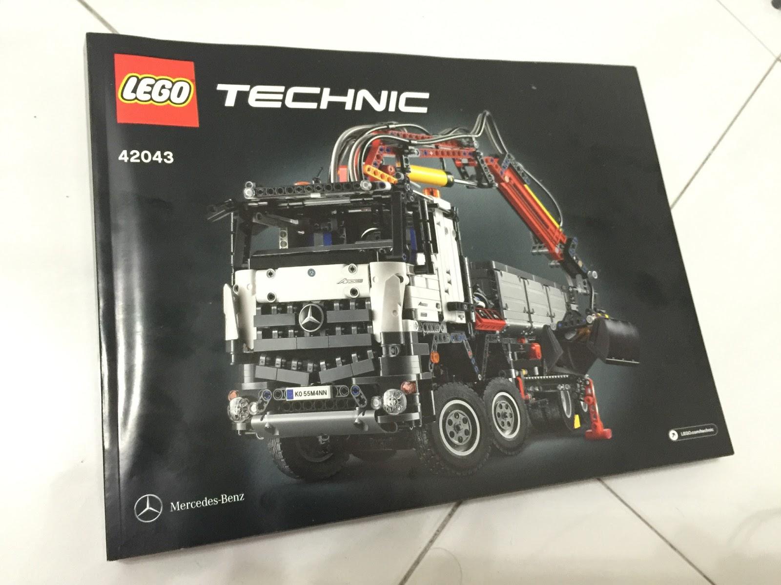 lego and ldd lego technic 42043 mercedes benz arocs. Black Bedroom Furniture Sets. Home Design Ideas