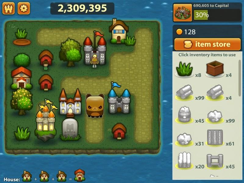 Game Mini Puzzle: Triple Town APK Android Terbaru 2015