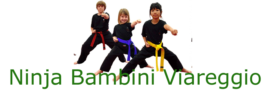 Ninja Bambini Viareggio