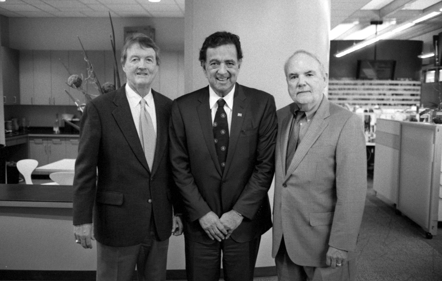 Governor Bill Richardson in Texas visiting the Briscoe Center for American History
