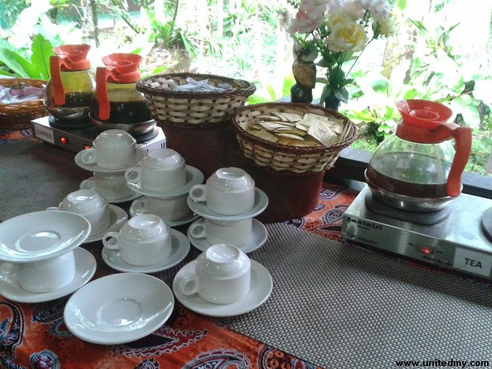 Tabin Wildlife Reserve Coffee & Tea