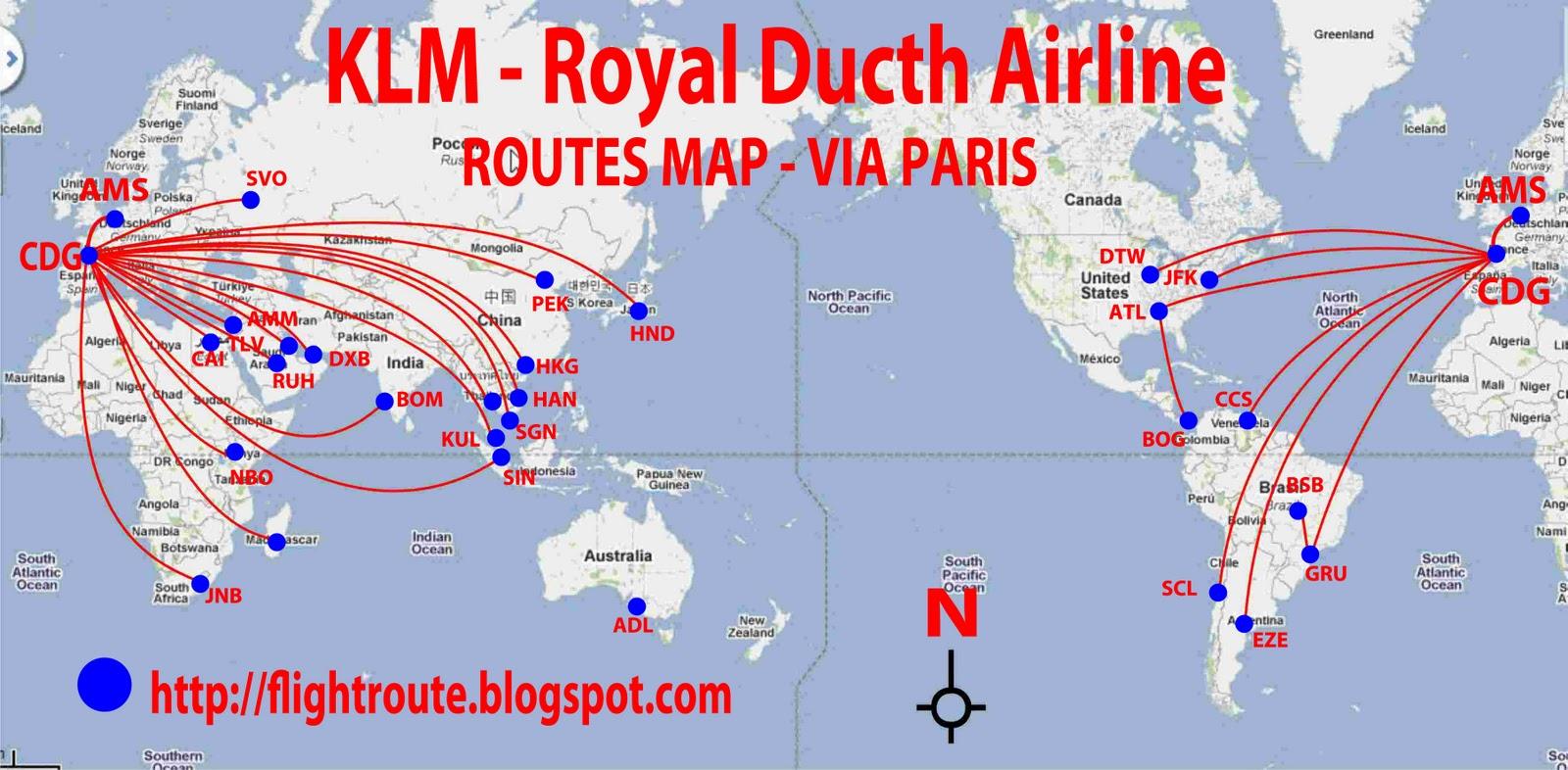 airlines central: KLM airlines flights