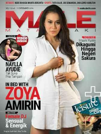 Download Gratis Majalah MALE Mata Lelaki Edisi 110 Cover Model Zoya Amirin | MALE Mata Lelaki 109 Indonesia | Cover MALE 110 Zoya Amirin| www.insight-zone.com