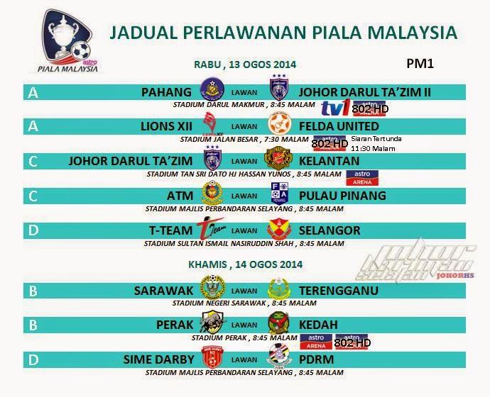 live streaming piala malaysia 2014