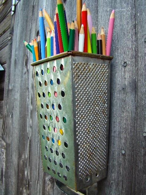 reciclar un rallador