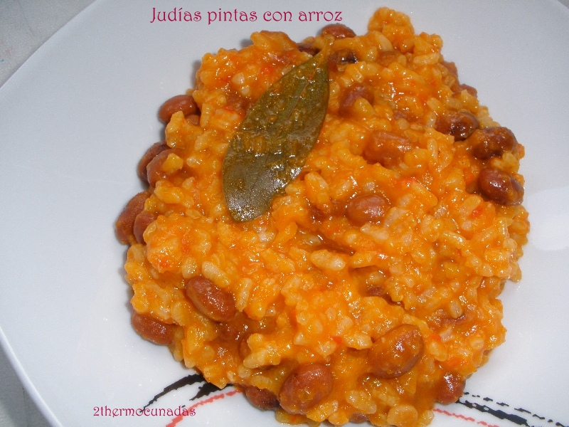 2thermocu adas jud as pintas con arroz - Judias pintas con arroz ...