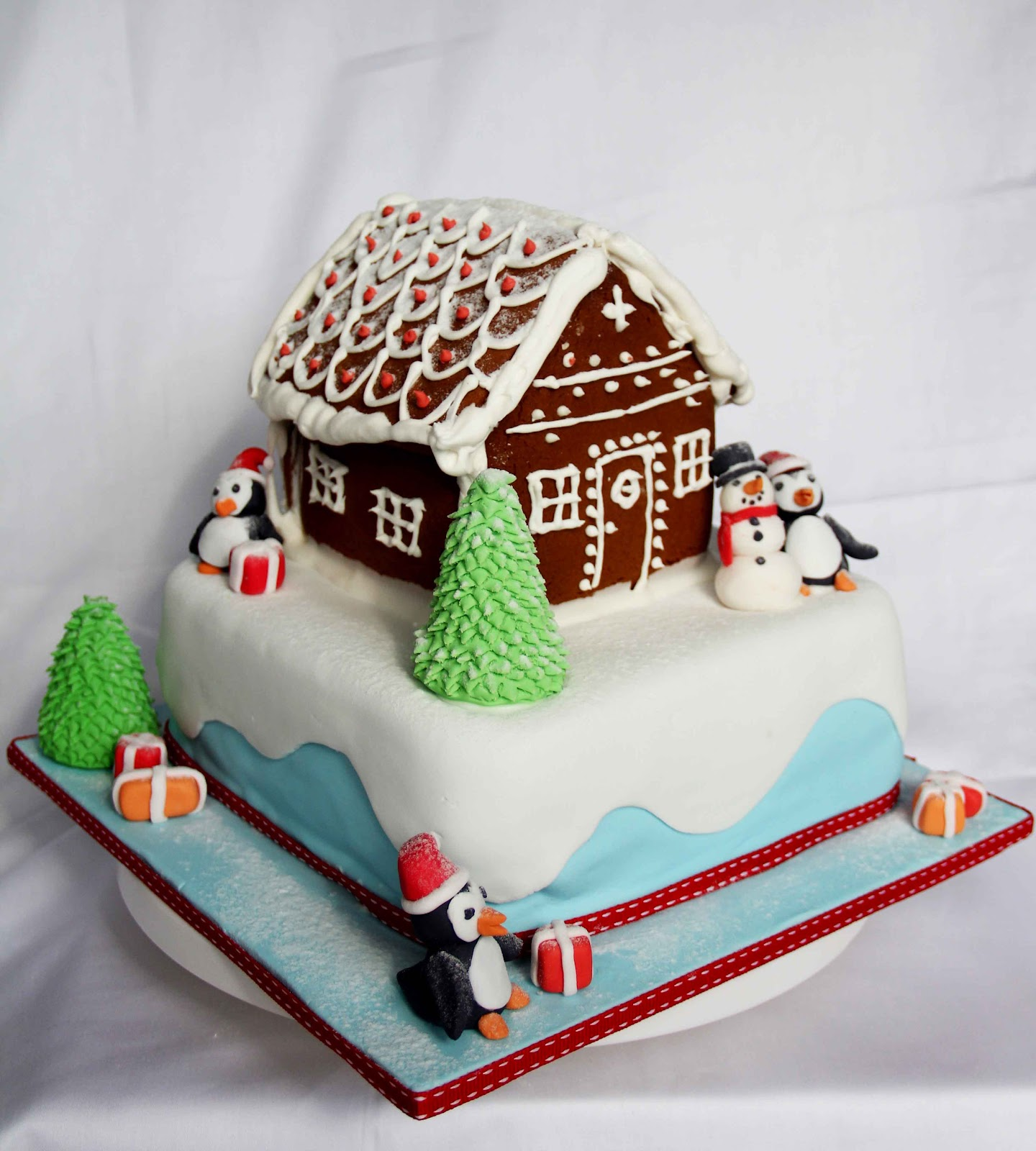 Bakerz Dad: Christmas House Cake