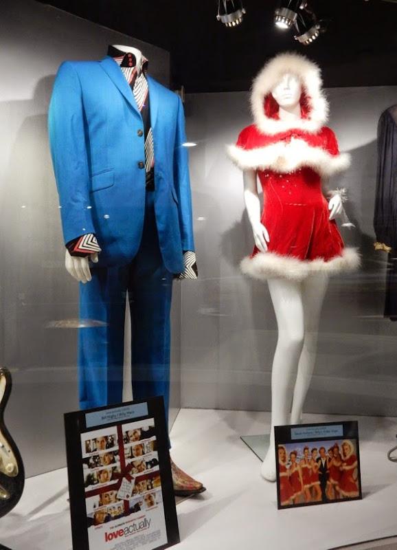 Billy Mack Video Vixen Love Actually film costumes