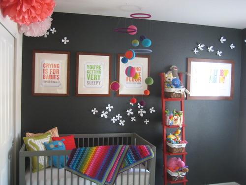 Idee Deco Chambre Ado Rouge : Habitación para Bebé en Color Gris  Ideas para decorar, diseñar y