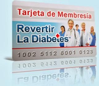 tarjeta de membresia parte de los bonos del método revertir la diabetes