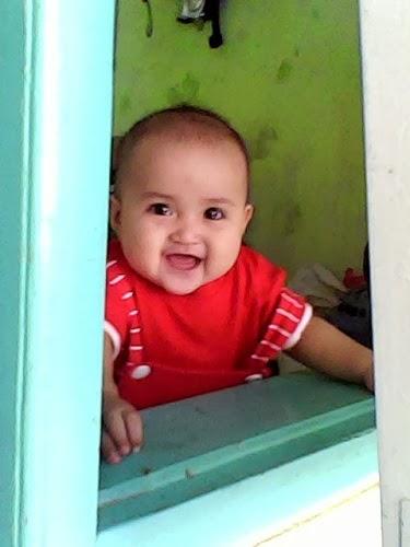 lubna adawiyah bayi lucu cantik imut