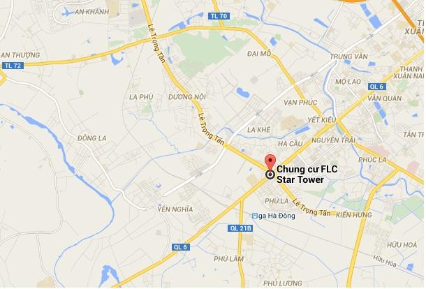 Vị trí chung cư FLC Star Tower