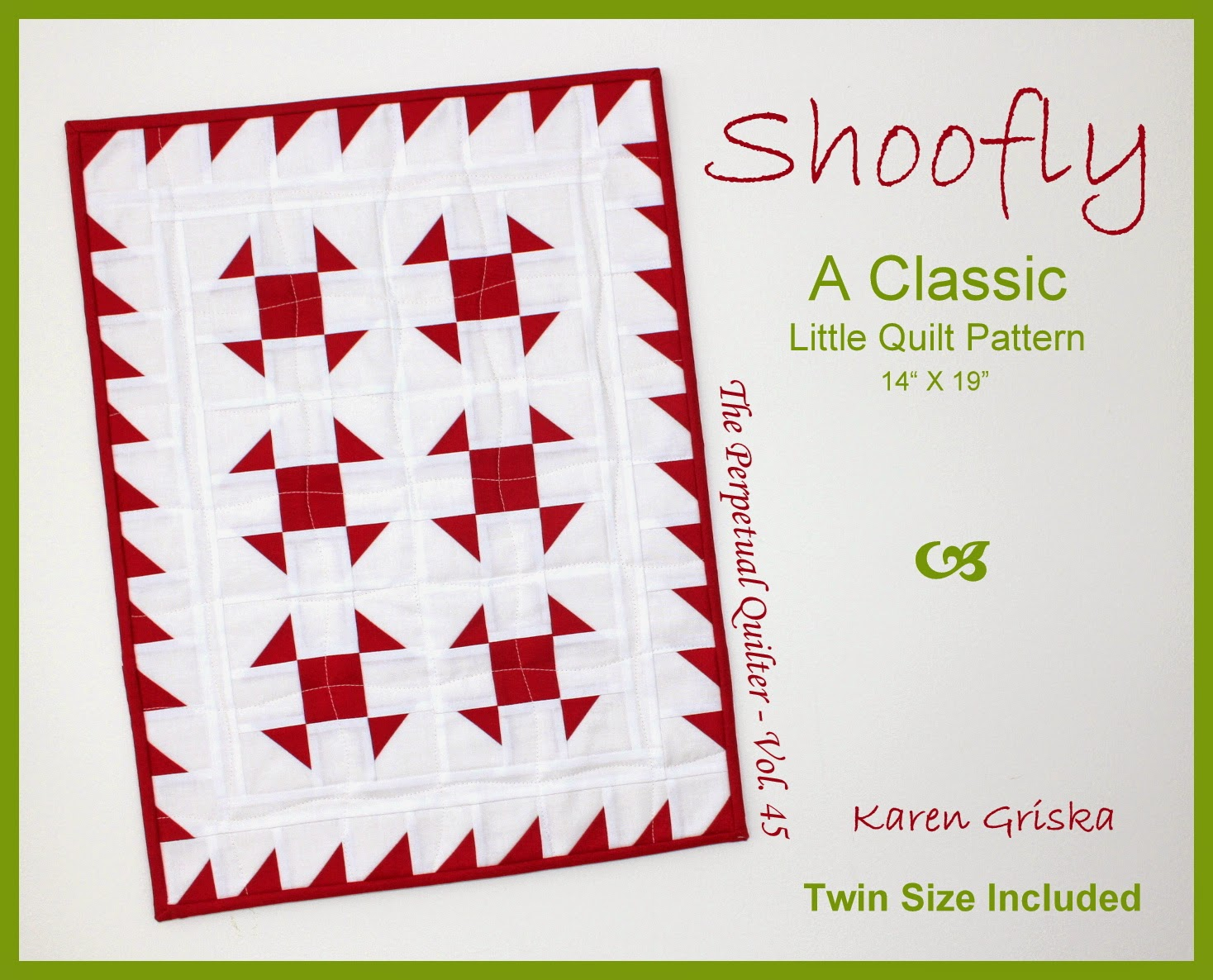 Shoofly Quilt Pattern