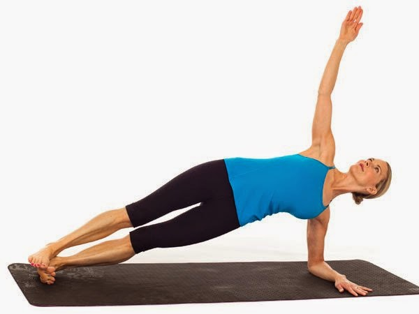 kesehatan : 3 Pose Pilates Membuat Perut rata