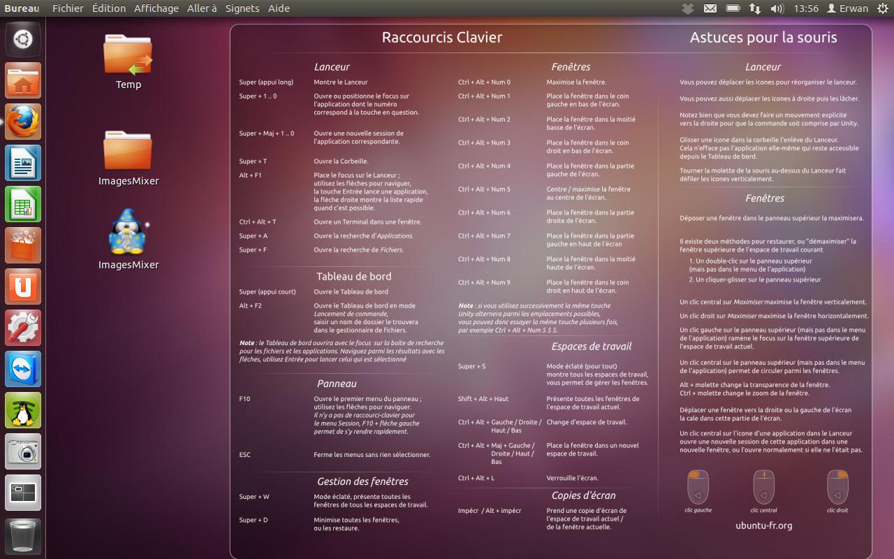 News ubuntu un raccourci clavier pour acc der au for Photo ecran ubuntu