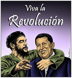 Cuba despide a Hugo Chávez como al Che El+Che+y+Hugo+Chavez