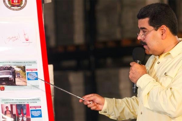 Maduro prohíbe la venta de productos alimenticios en la economía informal