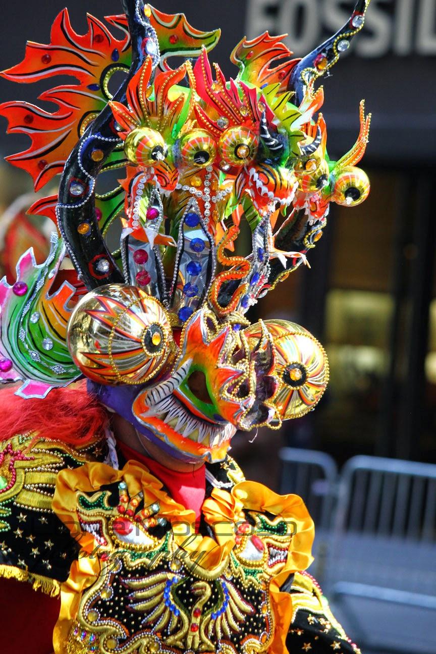 cultura folklorica boliviana - Danza de la diablada