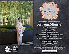 Expo Té y Rosas presenta a la maestra de té...