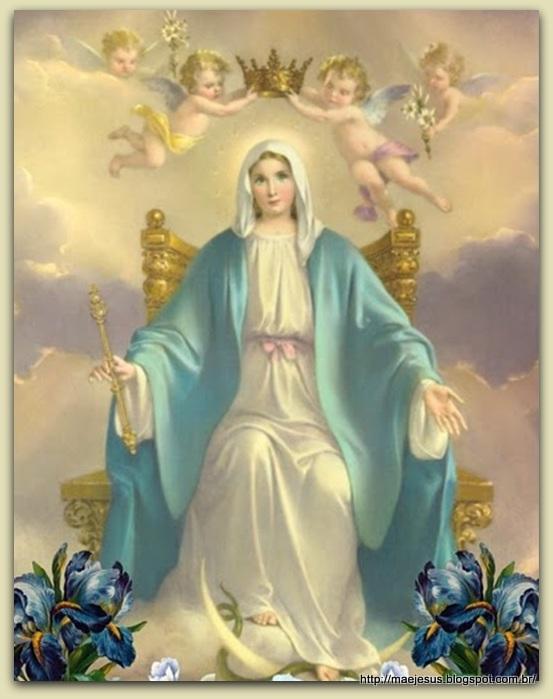 Fabuloso Coroação de Nossa Senhora | Mãe de Jesus AF49